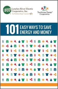101 Easy Ways to Save Energy & Money (PDF)
